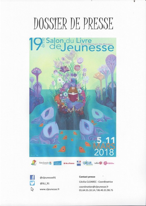 Salon du livre Saint Germain Ls Arpajon